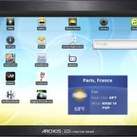Archos-101-internet-tablet-face-with-home-screen