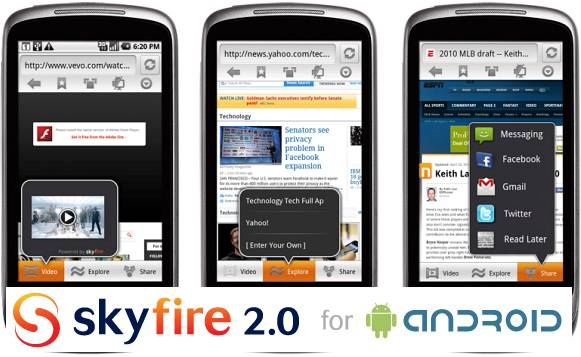 Skyfire_Android_2.0beta