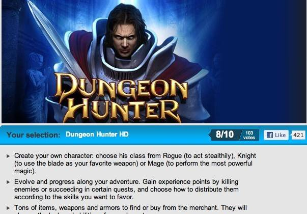 gameloft_dungeon_hunter_free