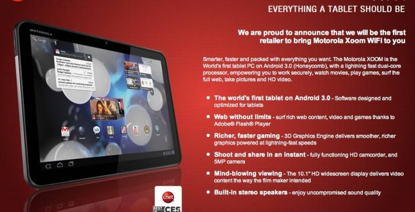 Motorola Xoom WiFi PC World