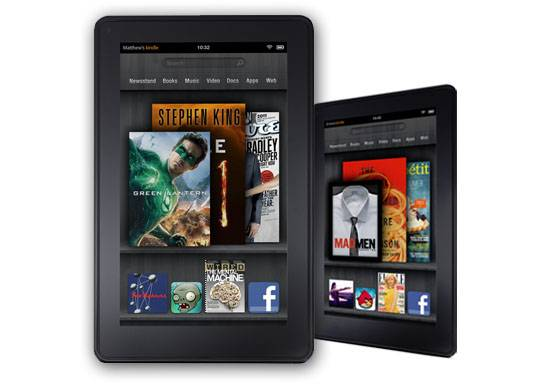 10-inch kindle fire mockup