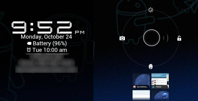 Widget Locker ICS