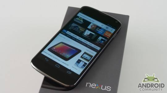 Nexus 4 back in stock in the UK