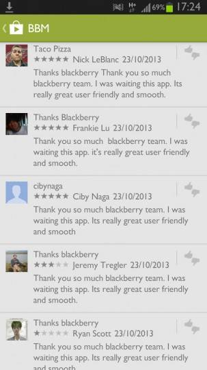 bbm-android-fake-reviews