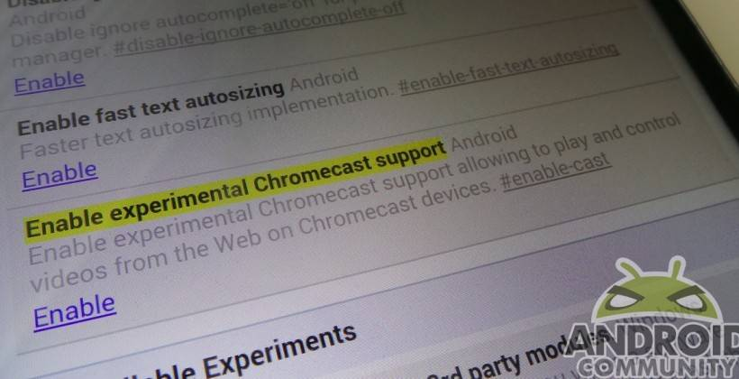 Chrome Beta Chromecast AC