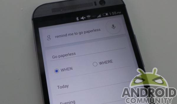 Google Now Paperless AC