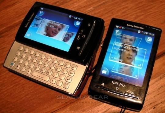sony ericsson xperia x10 pro mini. Sony Ericsson XPERIA X10 mini