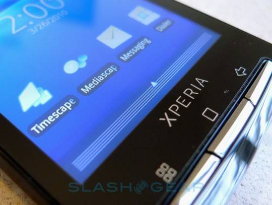 Sony Ericsson Xperia X10 to get UXP upgrade in Q4 2010