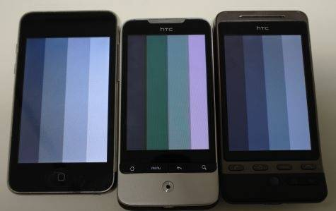 HTC Legend AMOLED struggling with grayscale - Android Community