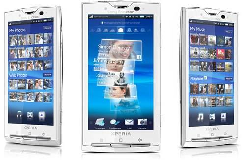 Updating sony ericsson xperia x10 current dating sites in the world