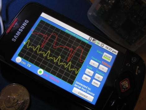 android-oscilloscope