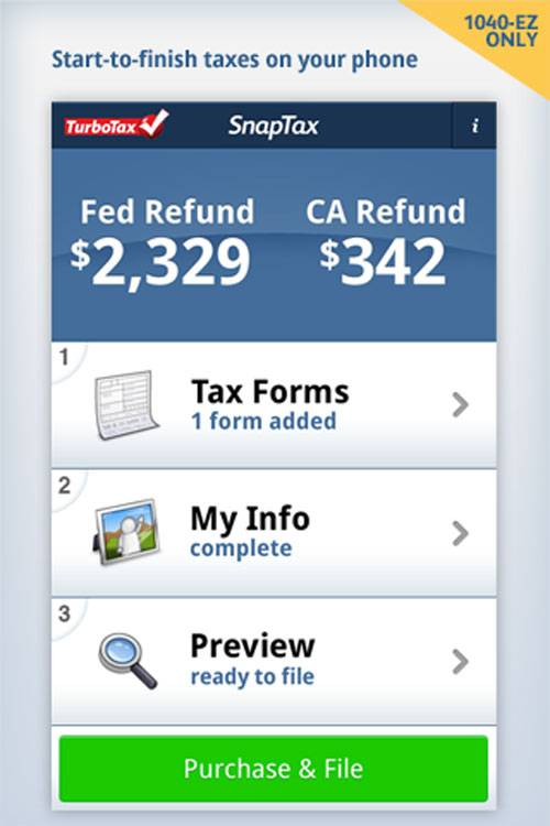 TurboTax app comes to Android so you can do your taxes on the go