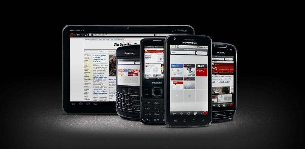 Opera Mobile & Mini Browsers get updated for Android
