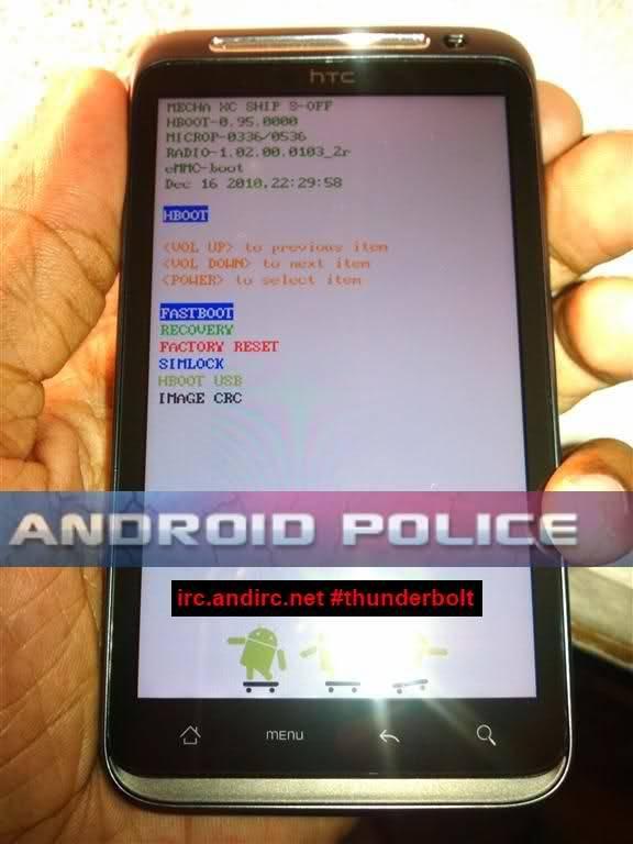 HTC Thunderbolt Full Root and Bootloader Unlock Instructions