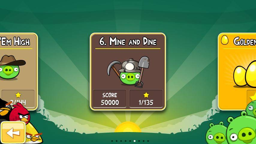 Angry Birds Mine and Dine