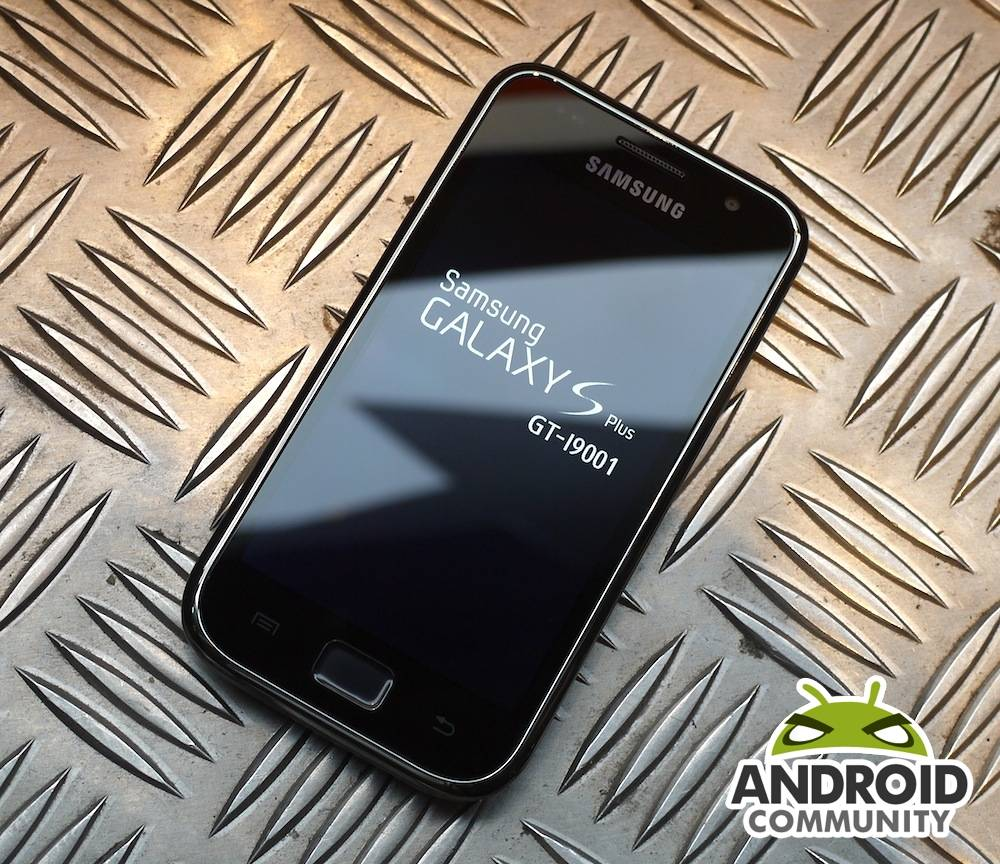 Samsung Galaxy S Plus hands-on and benchmarks - Android