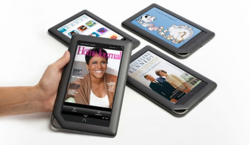 Barnes and Noble promotes Nook Color