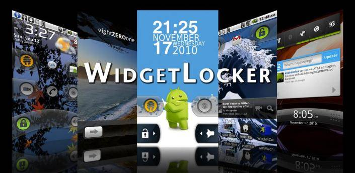 Widget locker main