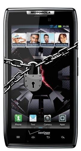 RAZR LOCKDOWN