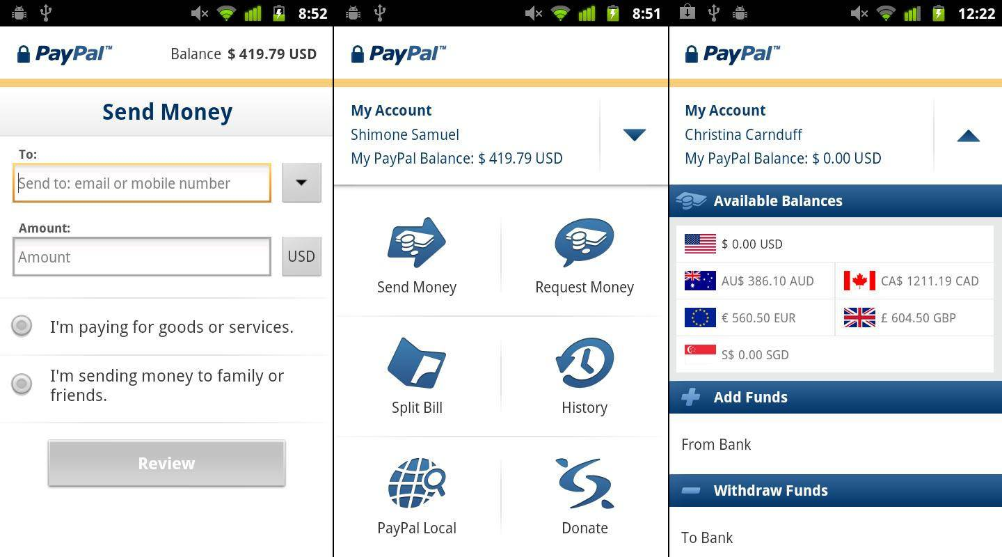 Paypal App FГјr Tablet