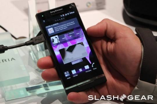 Sony XPERIA S to have anti-stain and fast charging features