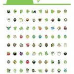 2012 Android Pins