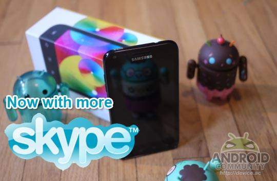 skype epic 4g touch