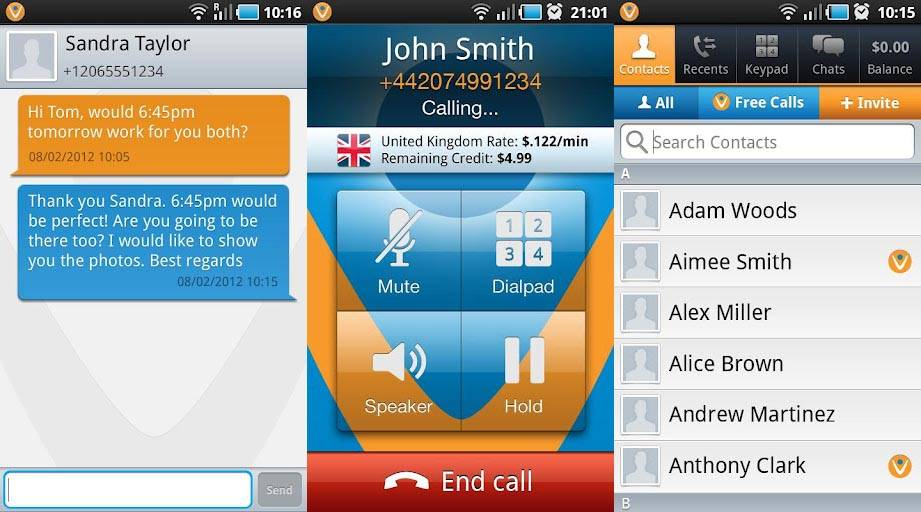 Vonage gives free VOIP calls and texts via Android app - Android