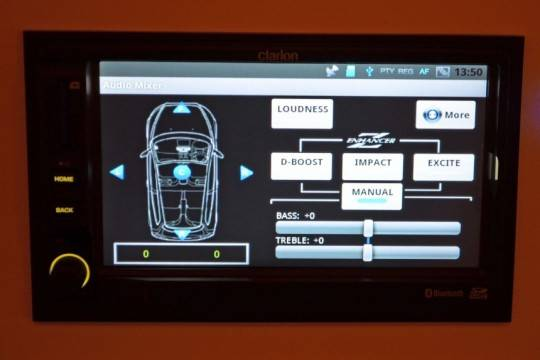 Clarion shows off 6.5-inch Android powered car stereo