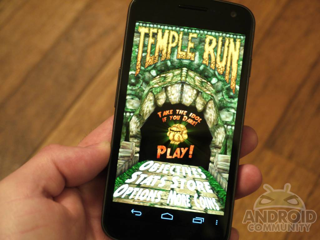 Temple Run for Android update solves crashes – supports Bionic and