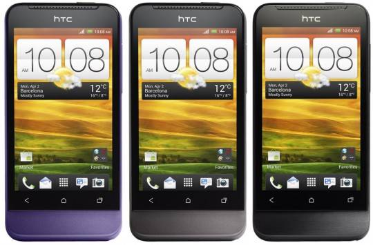 HTC One V launching in late April on UK networks