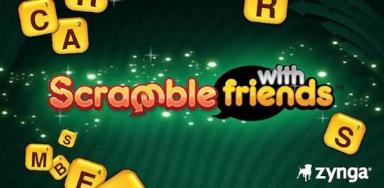 Scramble with Friends available now – Forget Words with Friends