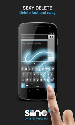 Siine Keyboard for Android released – icons make texting