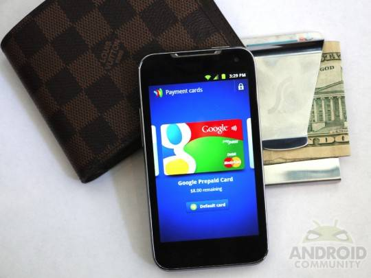 LG Viper 4G LTE with Google Wallet makes life easier
