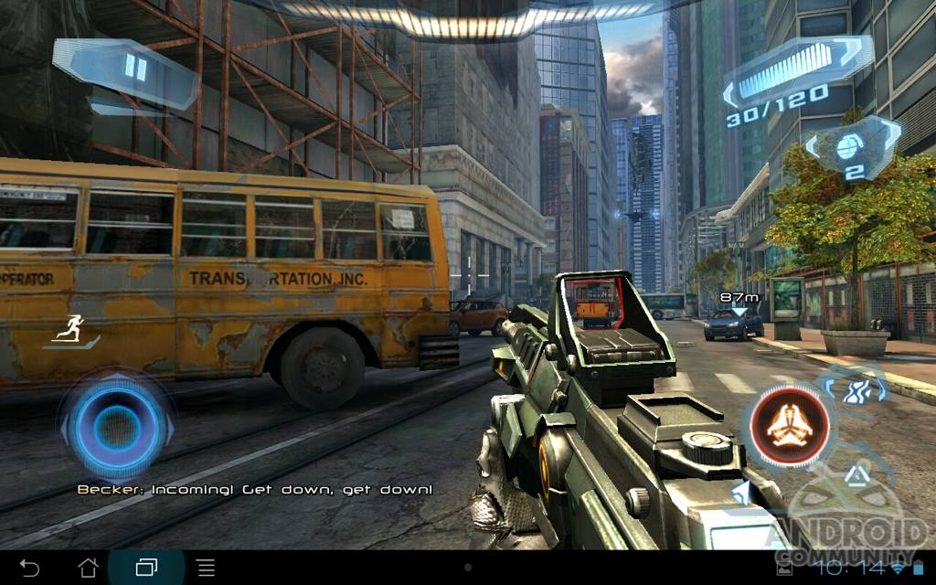 Gameloft's N O V A  3 for Android Review - Android Community
