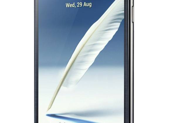GALAXY Note II Product Image Gray(2)