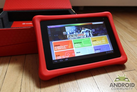 Fuhu Nabi 2 tablet for kids gets rooted and access to Google