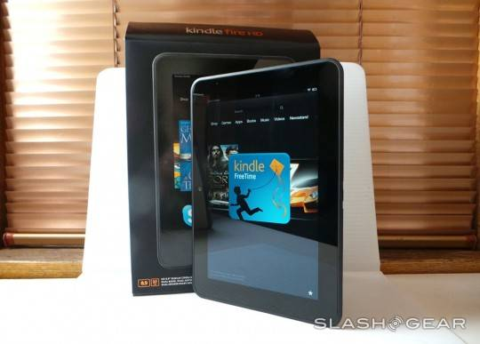 Kindle Fire HD 8.9 review by SlashGear