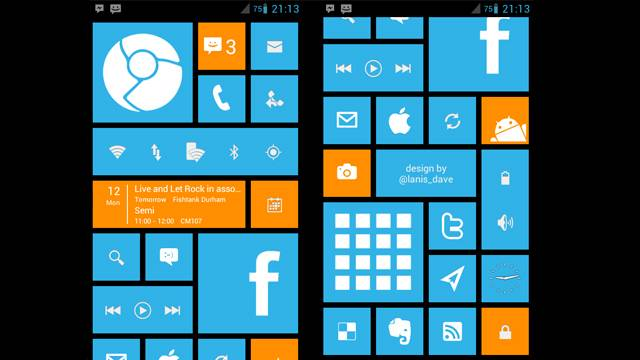 Android gets a taste of Windows Phone 8 with WP8 Launcher