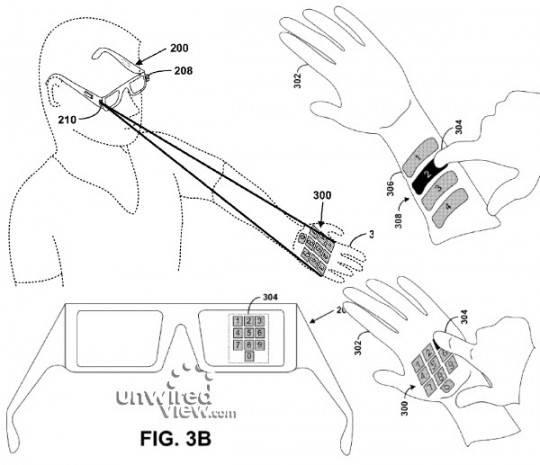 Google-Project-Glass-virtual-keyboard