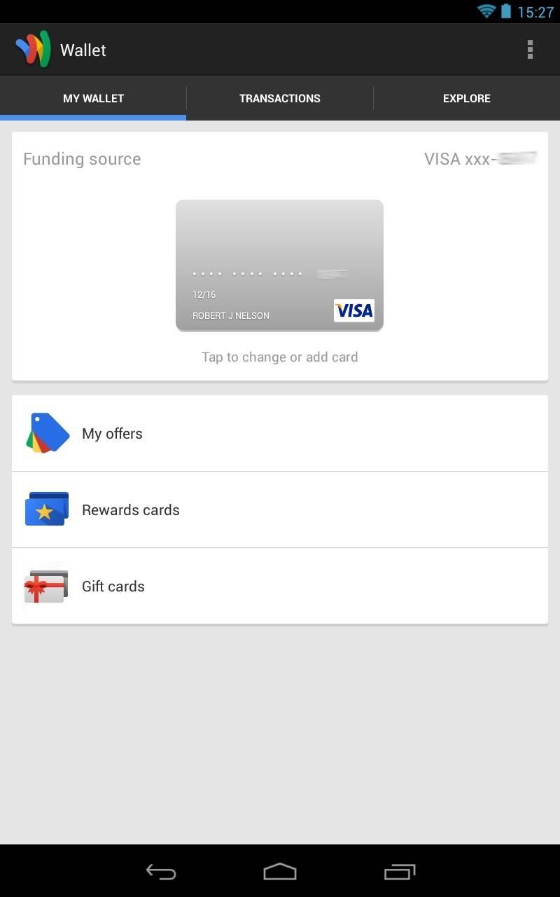 Google Wallet app update brings battery life and UI