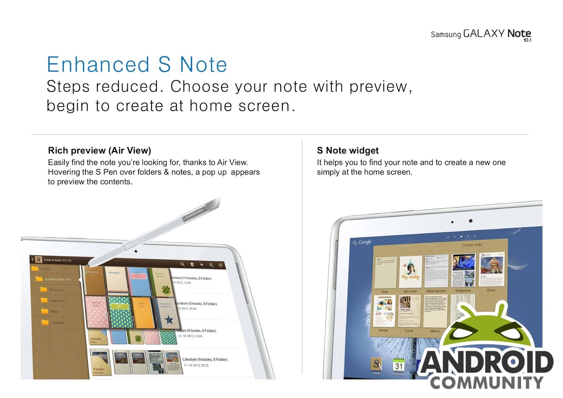 Samsung releases Jelly Bean and Premium Suite for Note 10 1 and Tab