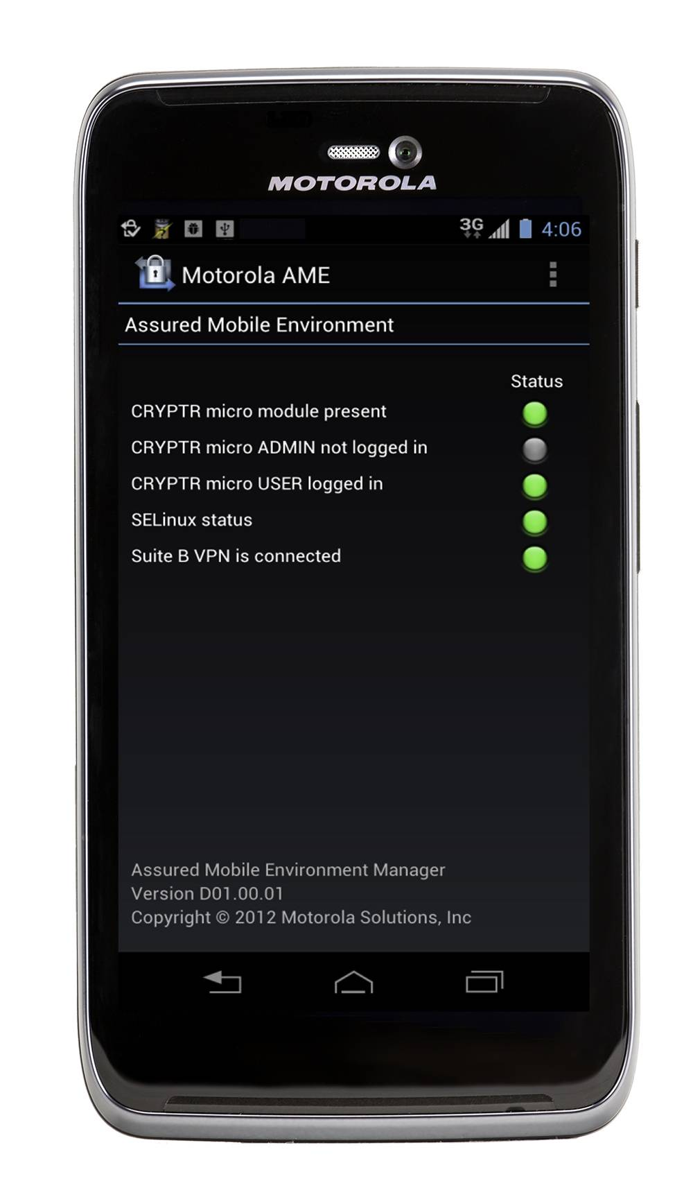Motorola Solutions Makes A Device For Federal Agencies