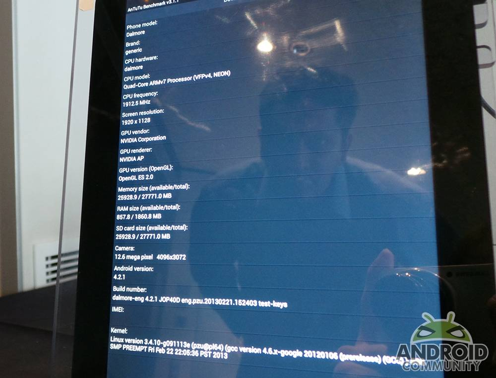 NVIDIA Tegra 4 hands-on: Benchmarks and Phoenix platform tested
