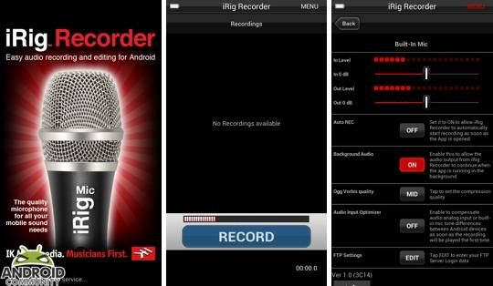 iRig Recorder app now available for Android - Android Community