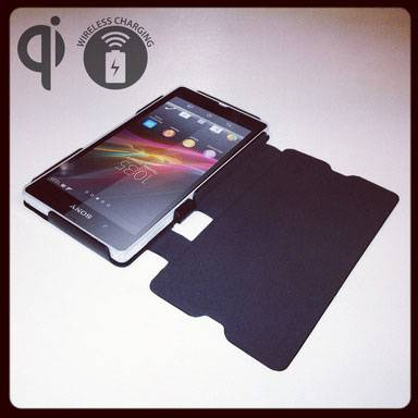 lowest price 75a73 6fa86 Qi Wireless charging case for Xperia Z debuts from Ipan Ipan ...