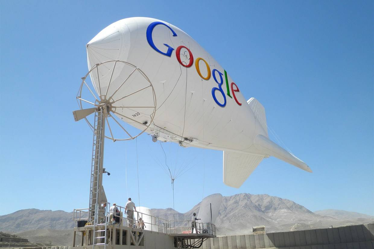 googleblimp