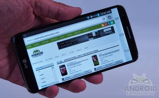 LG G2 top android smartphone 2013