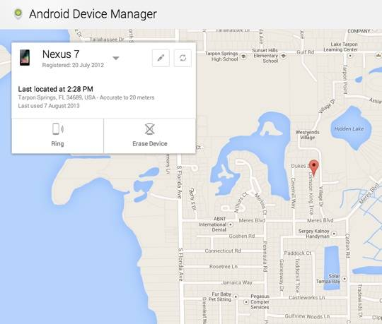 adm screen 540 - Android Device Manager tracking and remote wipes go live