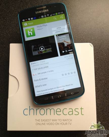 Chromecast support in the works from Hulu - Android Community